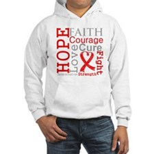 Blood Cancer Hope Courage Hoodie