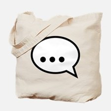 I'm speechless, no words Tote Bag