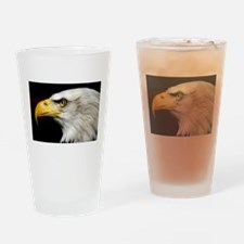 American Bald Eagle Drinking Glass