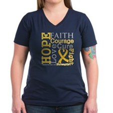 Appendix Cancer Hope Courage Shirt