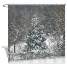 Winter Photo Shower Curtain