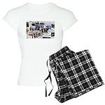 Obama Wins 2012 Newspaper Women's Light Pajamas