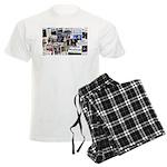 Obama Wins 2012 Newspaper Men's Light Pajamas