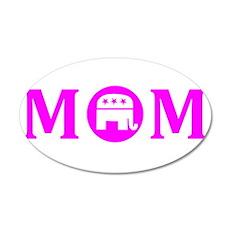 REPUBLICAN MOM REPUBLICAN WOMAN SHIRT TEE Wall Decal