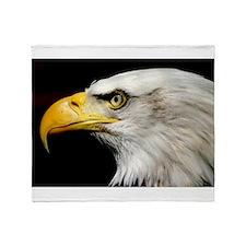 American Bald Eagle Throw Blanket