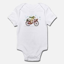 Dog and Squirrel Holiday Infant Bodysuit