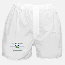 Boulder Colorado Marijuana Boxer Shorts