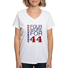 Obama 2012 Four More Shirt