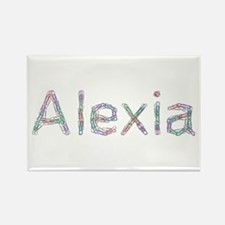 Alexia Paper Clips Rectangle Magnet