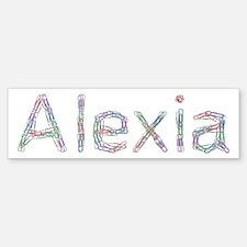 Alexia Paper Clips Bumper Bumper Bumper Sticker
