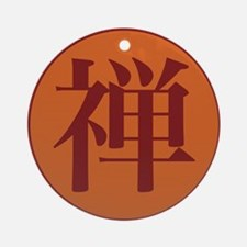 Zen Buddhist Ornament (Round)
