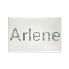Arlene Paper Clips Rectangle Magnet