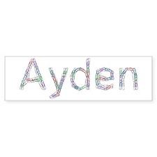 Ayden Paper Clips Bumper Bumper Sticker