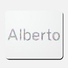 Alberto Paper Clips Mousepad