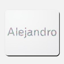 Alejandro Paper Clips Mousepad