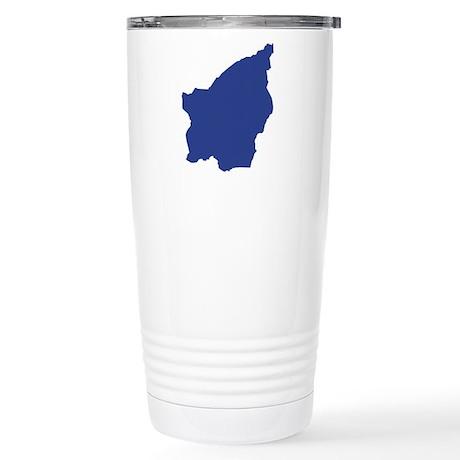 San Marino map Stainless Steel Travel Mug