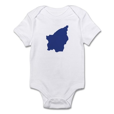 San Marino map Infant Bodysuit