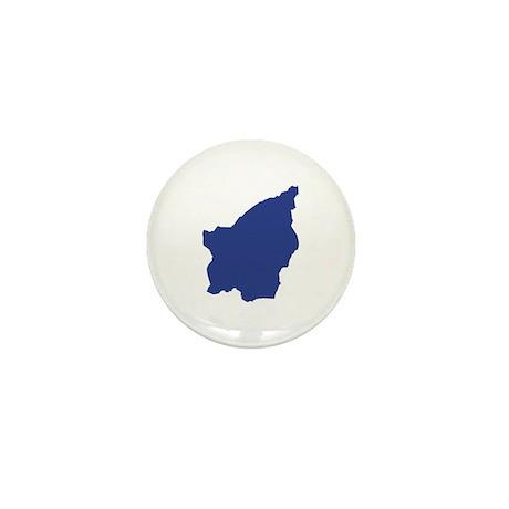 San Marino map Mini Button