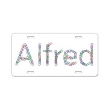 Alfred Paper Clips Aluminum License Plate