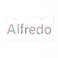 Alfredo Paper Clips Aluminum License Plate