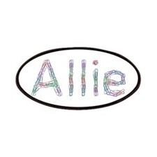 Allie Paper Clips Patch