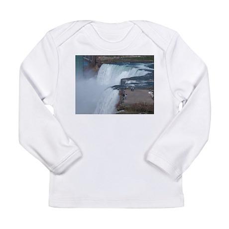 Niagara Falls, NY Long Sleeve Infant T-Shirt