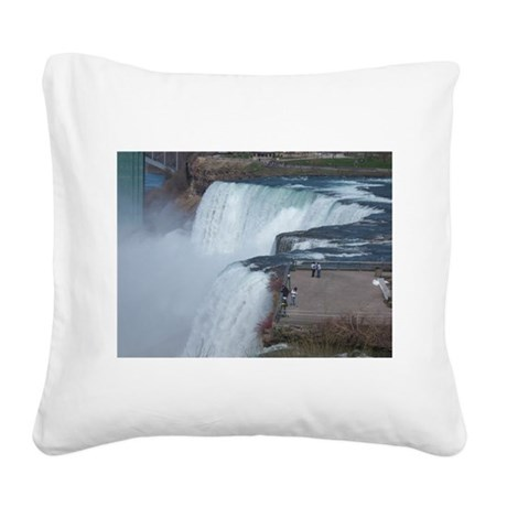 Niagara Falls, NY Square Canvas Pillow