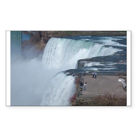 Niagara Falls, NY Sticker (Rectangle)