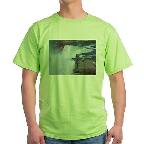 Niagara Falls, NY Green T-Shirt