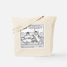 The Lap Dog Tote Bag