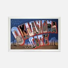 Oklahoma City Oklahoma Rectangle Magnet