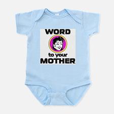 word.jpg Infant Bodysuit