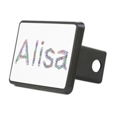 Alisa Paper Clips Hitch Cover