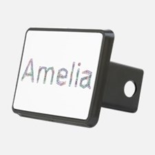 Amelia Paper Clips Hitch Cover
