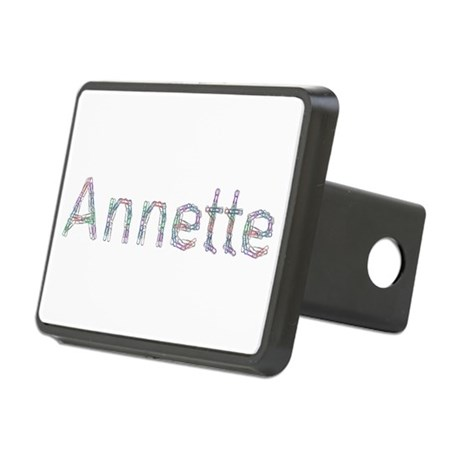 Annette Paper Clips Rectangular Hitch Cover
