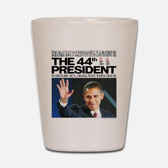 44th President.png Shot Glass
