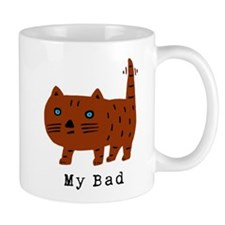 My Bad cat Small Mug