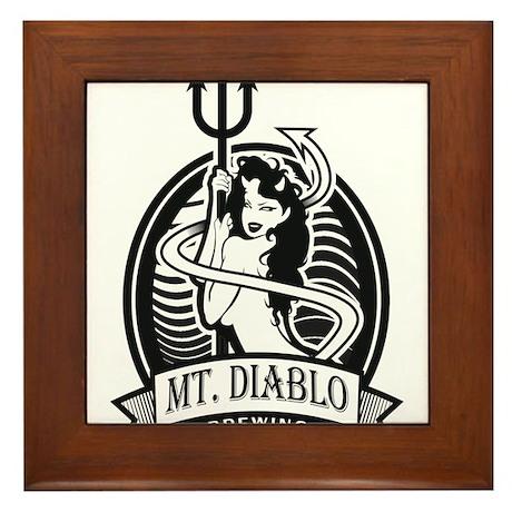 Diablo Beer Framed Tile
