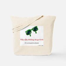 No Autographs Please (Vietnamese) Tote Bag