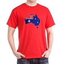 Australia map flag T-Shirt