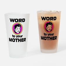 word.jpg Drinking Glass