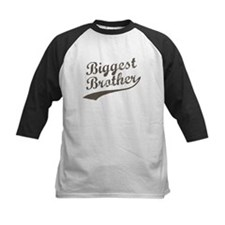 Biggest Brother (Brown Text) Baseball Jersey