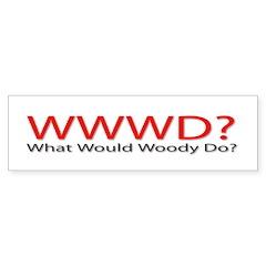 WWWD? Bumper Bumper Sticker