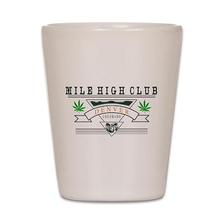 Denver Colorado Marijuana Shot Glass