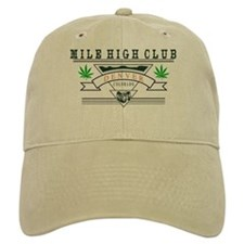 Denver Colorado Marijuana Baseball Cap