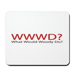WWWD? Mousepad