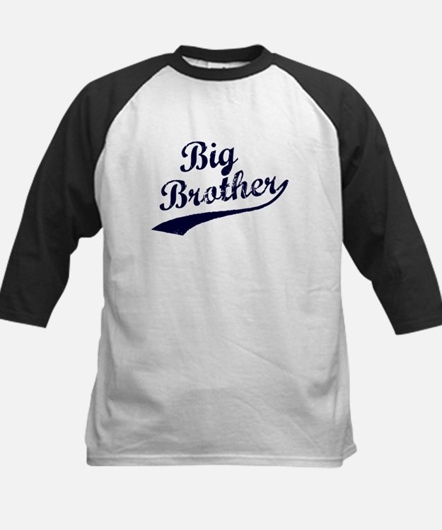 Big Brother (Blue Text) Baseball Jersey