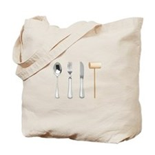 Cute Forks Tote Bag