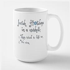 Jewish Holidays Large Mug