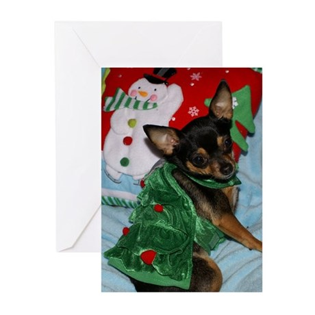 Chihuahua Christmas Greeting Cards (Pk of 20)